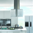 Вытяжка Falmec PRESTIGE ISOLA GLASS WHITE 75