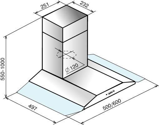 Схема вытяжки Эликор Стелс